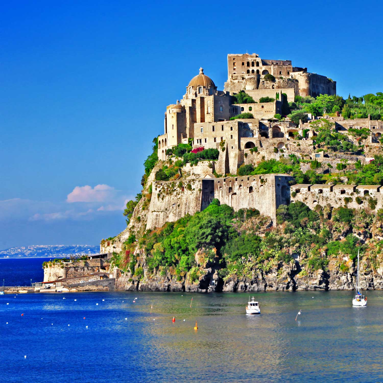 Aragonese-Castle-on-Ischia