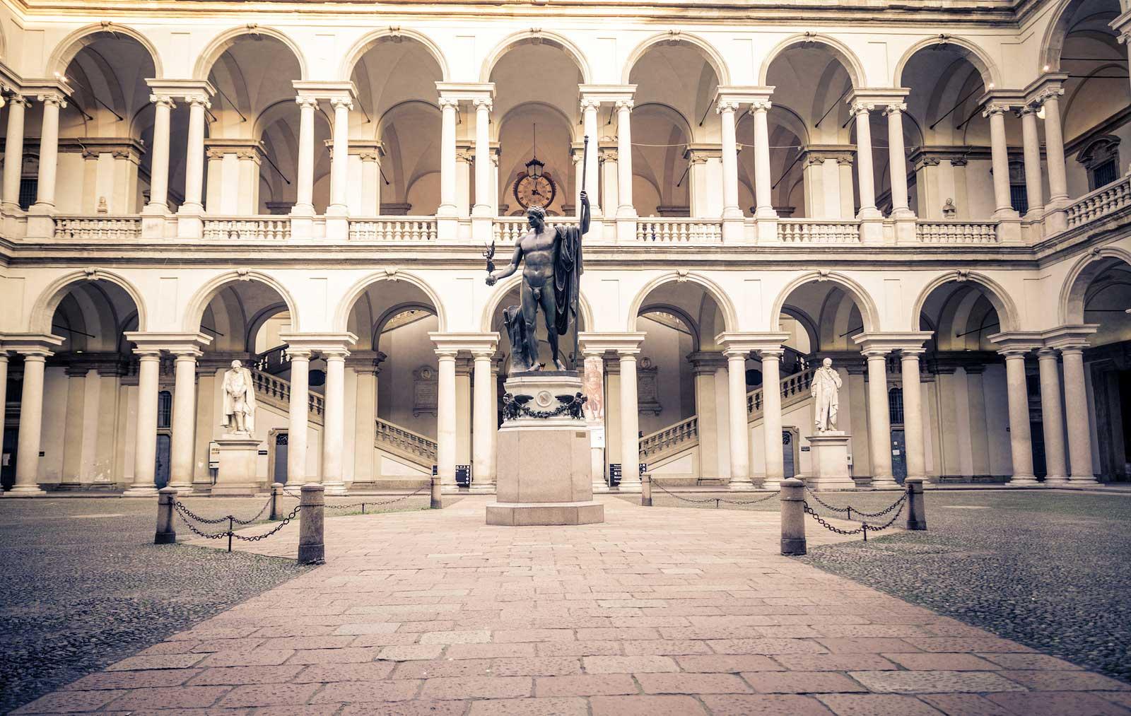 l 39 accademia di brera il palazzo e la pinacoteca di brera
