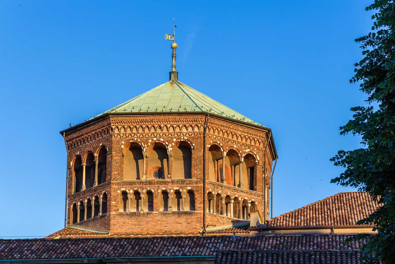 Basilica di sant ambrogio ciao bella italia for Piani di cupola pdf