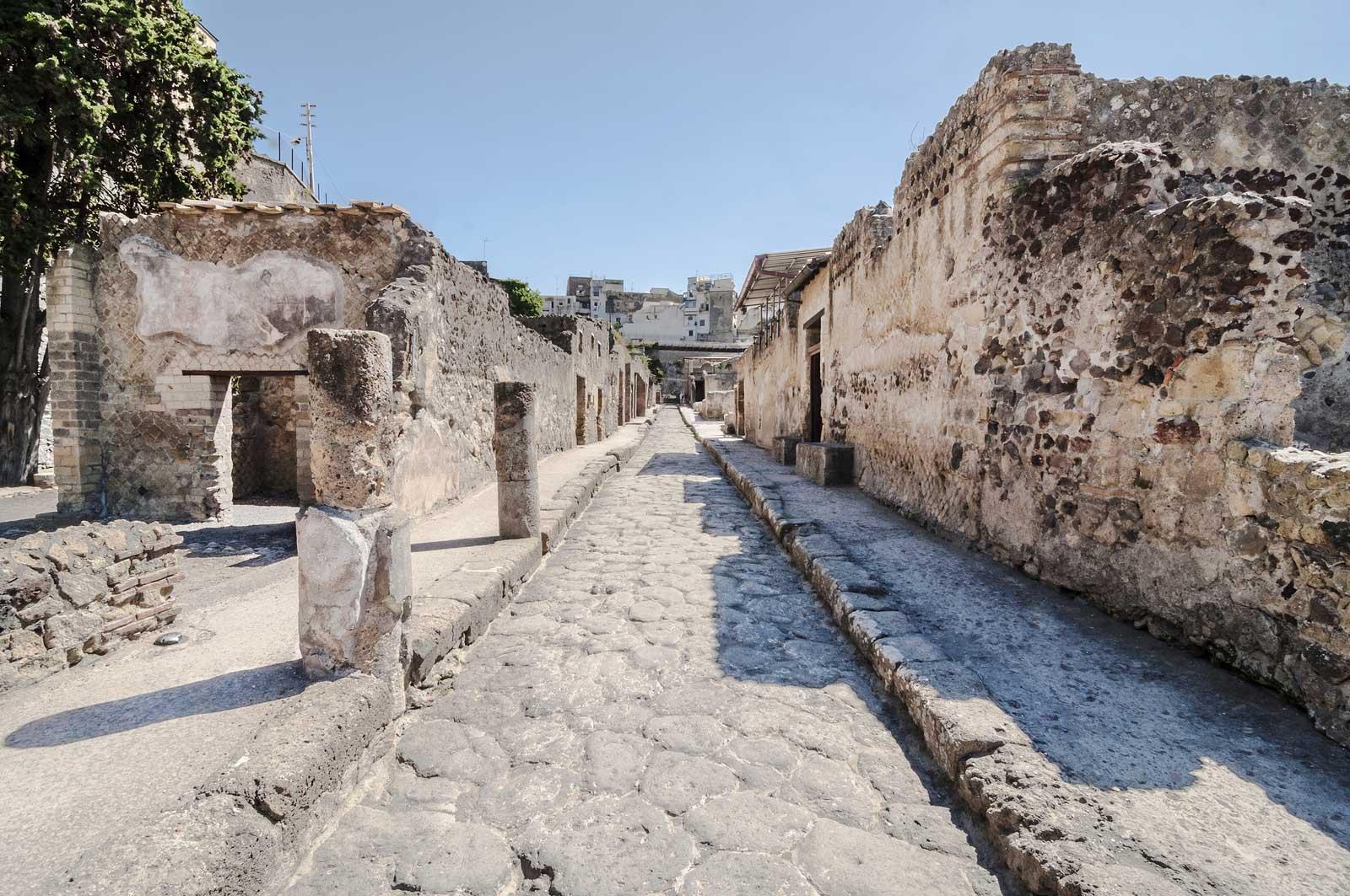 Ruins-Herculaneum