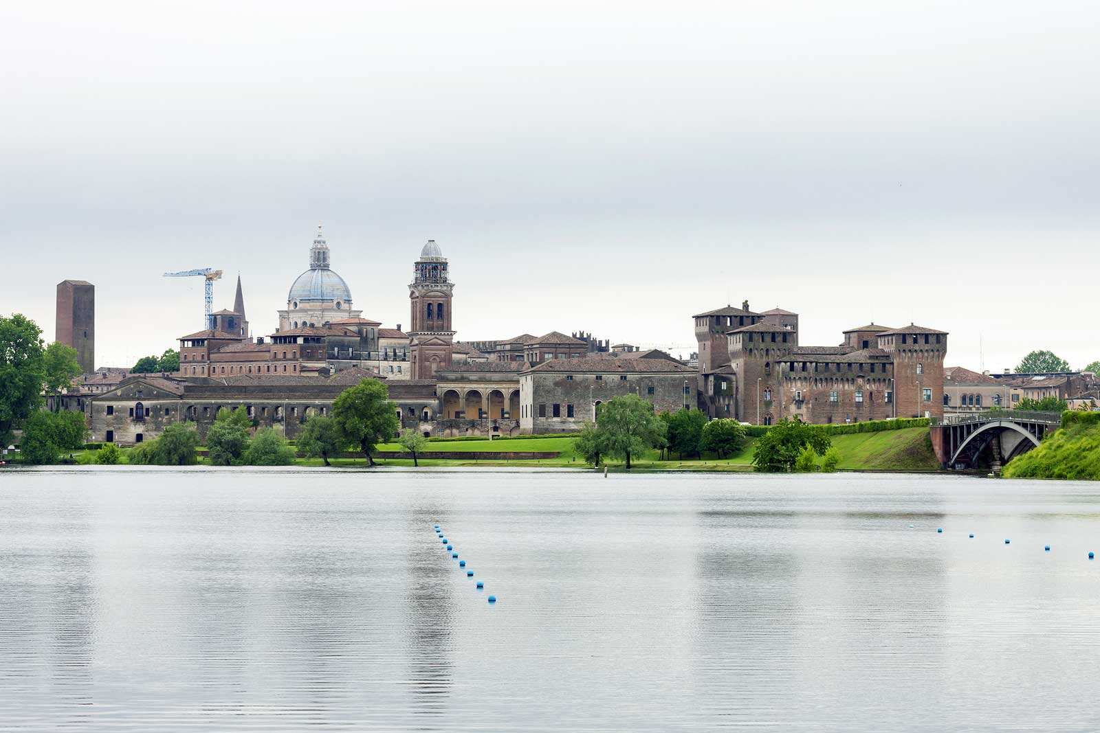 Veduta di Mantova