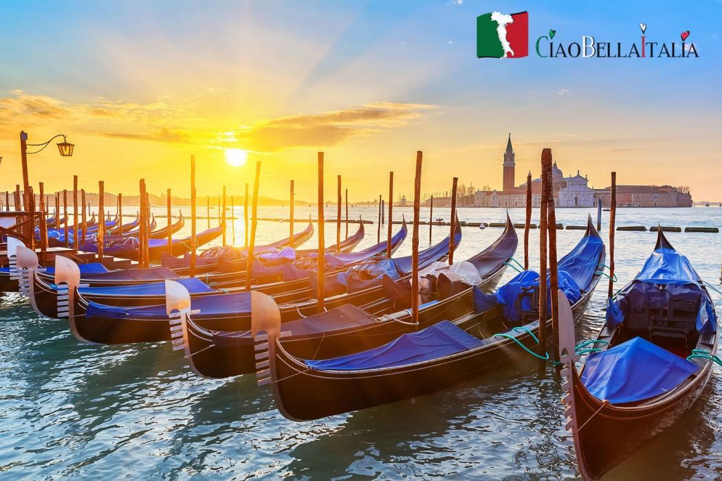 tramonto-gondole-venezia